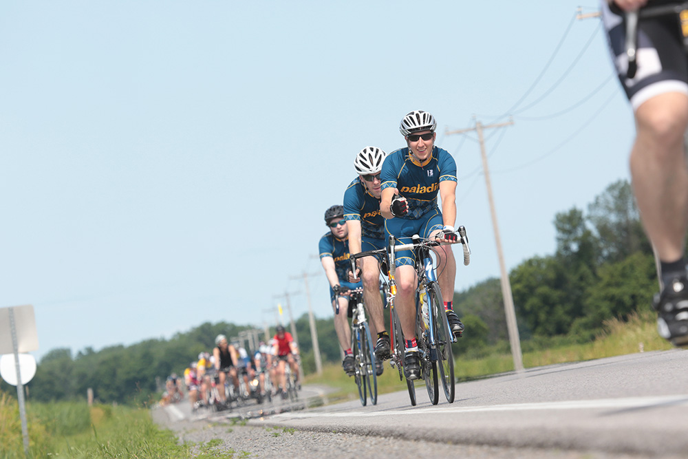 Paladin and the Ride to Conquer Cancer